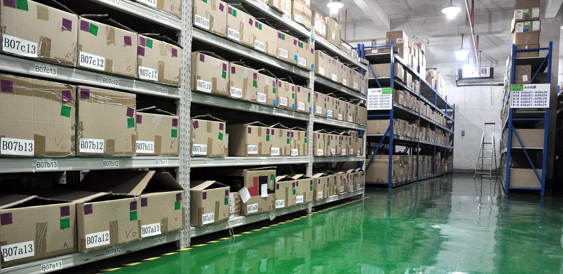 有芯电子仓储和物流服务