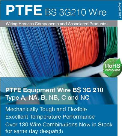 Rayfast PTFE BS 3G210 Wire NOW Available in Right IC
